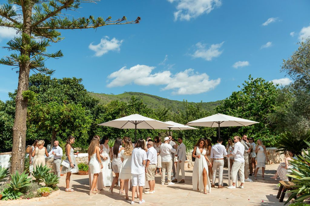 Wedding brunch with The Ibiza Catering