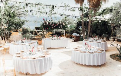 Luxury Wedding Catering with The Ibiza Catering